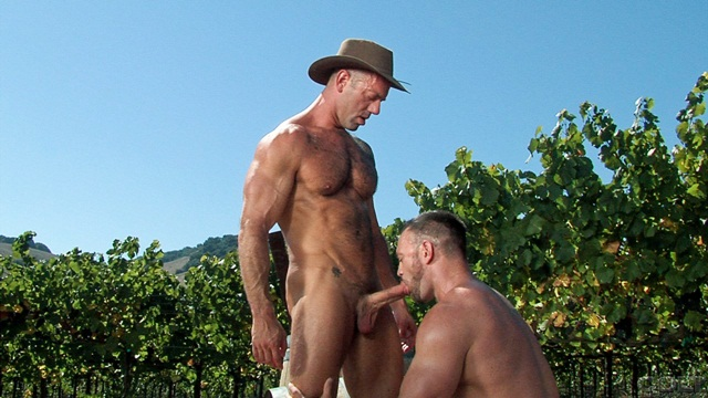 Burying his cock deep in Aaron Cages ass Vic Rocco starts with a slow deep power fucks his ass Download Full Stud Gay Porn Movies Here