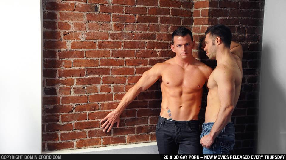 DominicFord.com brings you hot 3D Gay Porn