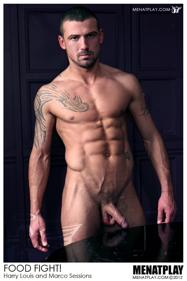 Harry Louis and Marco Sessions at Men at Play 6 Ripped Muscle Bodybuilder Strips Naked and Strokes His Big Hard Cock photo1 - Harry Louis and Marco Sessions at Men at Play