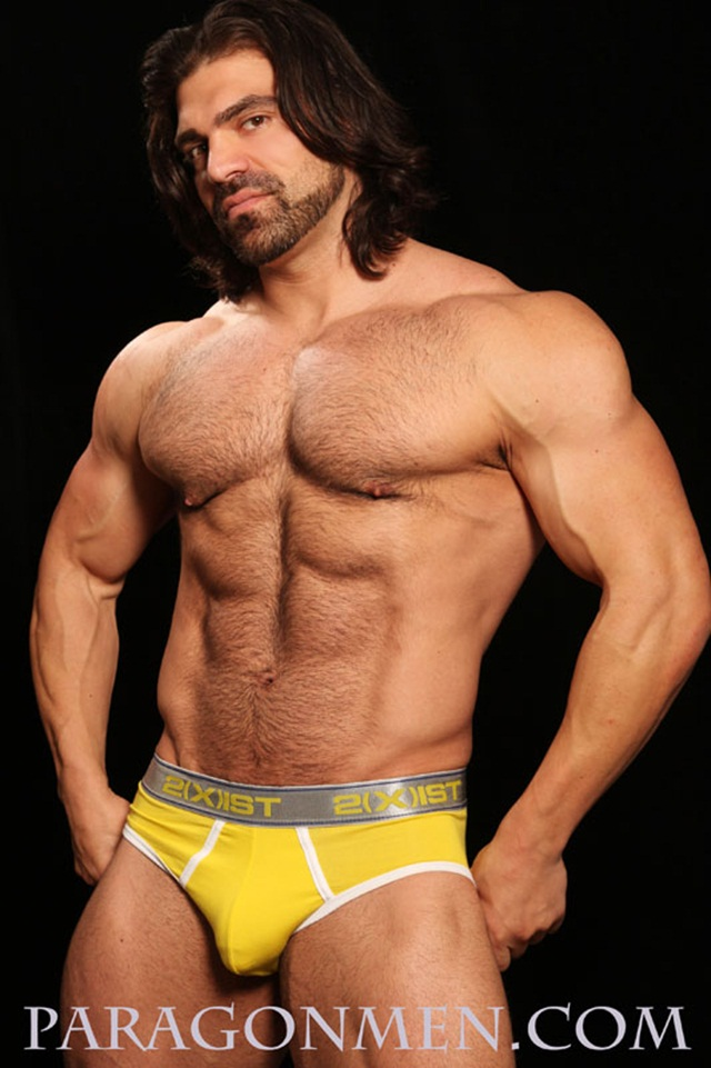 Jared Degado aka Vince Ferelli at Paragon Men 2 Ripped Muscle Bodybuilder Strips Naked and Strokes His Big Hard Cock photo1 - Jared Degado (Falcon Studios Vince  Ferelli) at Paragon Men