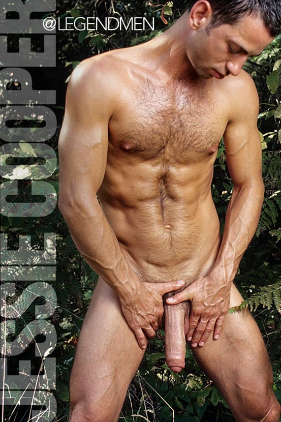 Legend Men Hot naked muscle hunks Jessie Cooper Ripped Muscle Bodybuilder Strips Naked and Strokes His Big Hard Cock photo Top 100 worlds sexiest naked muscle men at Legend Men (41 50)