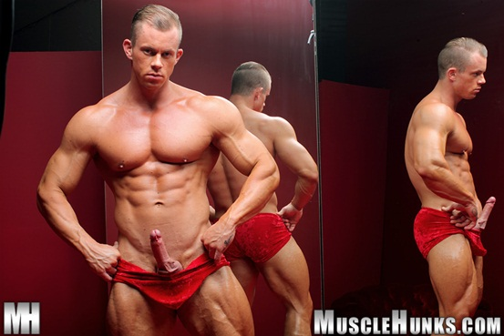 Naked muscle bodybuilder Otto Mann jerks his rock hard cock 02 Ripped Muscle Bodybuilder Strips Naked and Strokes His Big Hard Cock torrent photo1 - Naked muscle bodybuilder Otto Mann jerks his rock hard cock