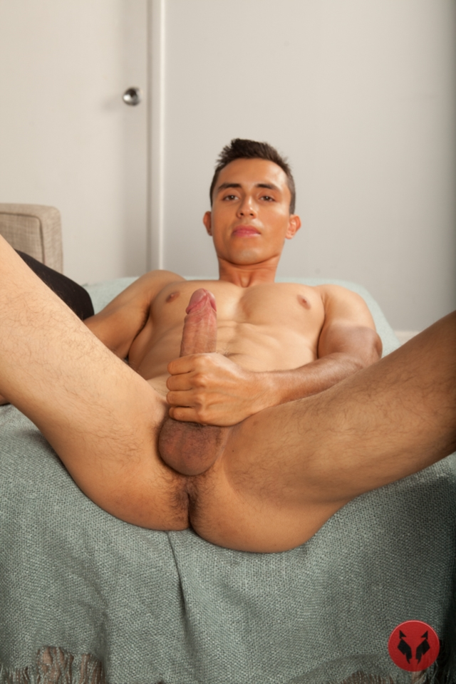 Randy Blue says: Antonio Galvan bends over doggie style and sticks a ...