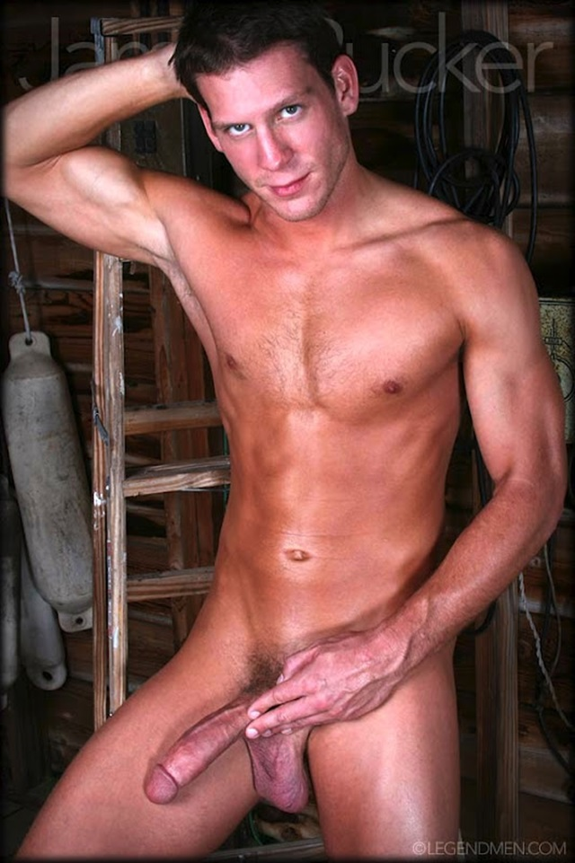 James Rucker  Very Long Cock  Legend Men  Gay Porn Pics -7016