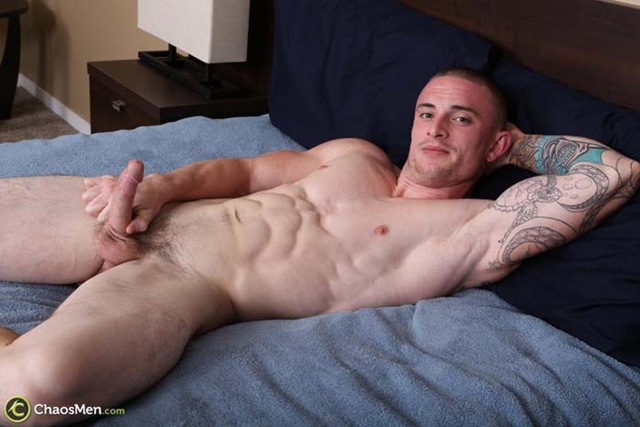 Chaos-Men-shaved-head-tattoos-Palmer-US-Marine-military-Fireman-Policeman-guy-thick-cock-001-male-tube-red-tube-gallery-photo