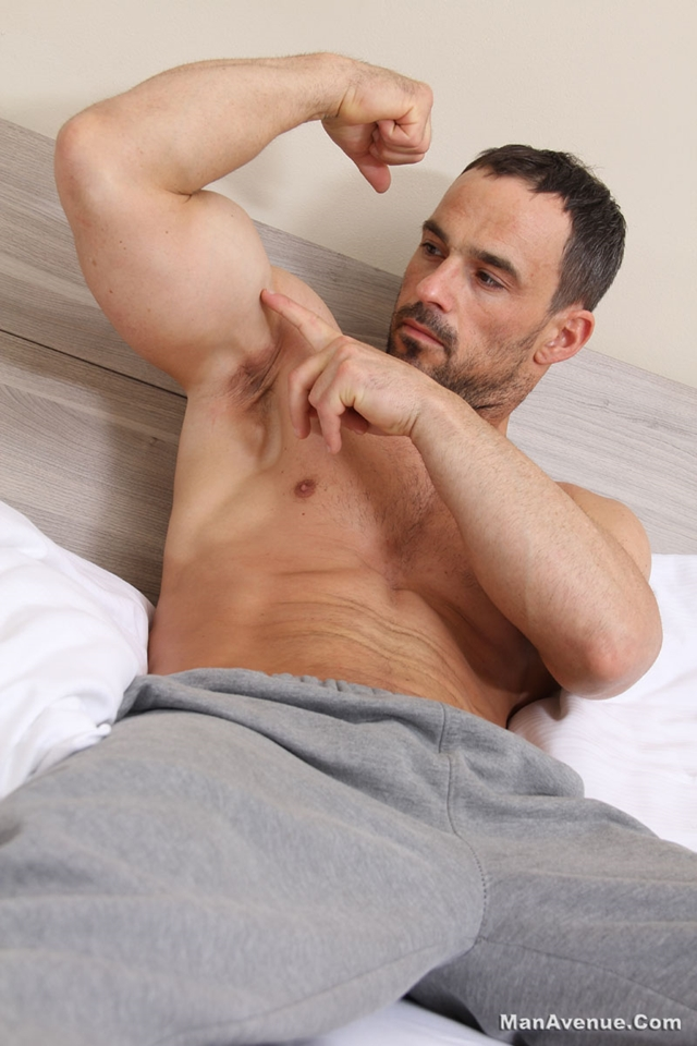 Man-Avenue-Joshua-X-hot-stud-ripped-muscle-body-hard-erect-uncut-cock-master-big-dick-flex-sweat-strokes-006-male-tube-red-tube-gallery-photo