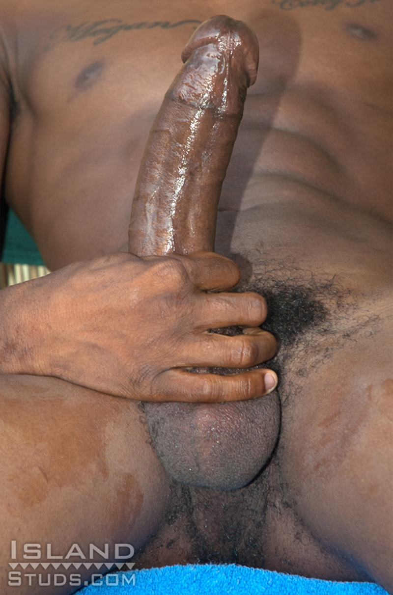 IslandStuds Athletic black twink Clarence smooth boy ripped abs eleven 11 inch monster cock 22 year old African Puerto Rican very big dick 006 tube download torrent gallery sexpics photo - Clarence