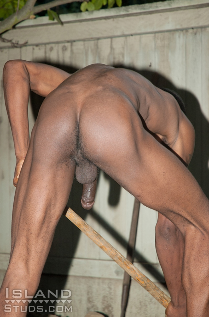 IslandStuds Athletic black twink Clarence smooth boy ripped abs eleven 11 inch monster cock 22 year old African Puerto Rican very big dick 007 tube download torrent gallery sexpics photo - Clarence