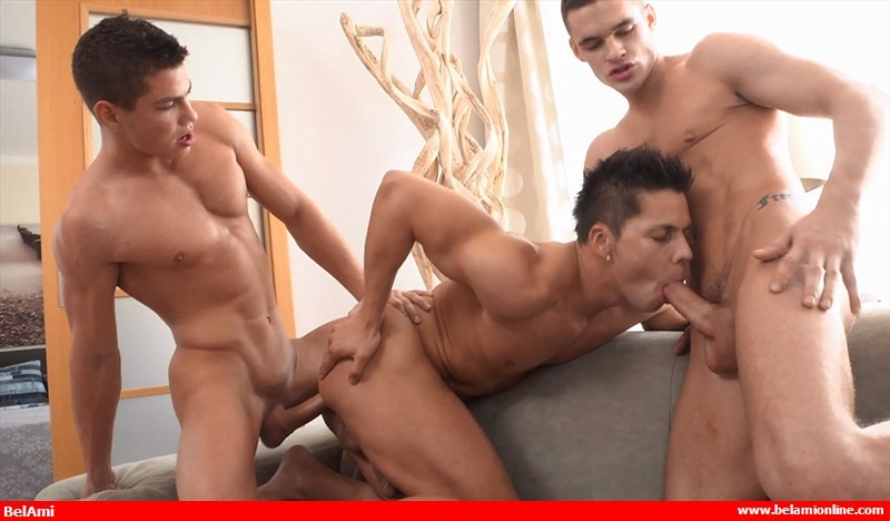 BelamiOnline Adam Archuleta Scott Reeves roommates handsome Ennio Guardi hot bath sexy young naked boys pounding 013 tube video gay porn gallery sexpics photo - Adam Archuleta, Scott Reeves and Ennio Guardi