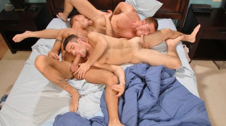 Adam Wirthmore, Connor Maguire and Brody Wilder ass fuck threesome