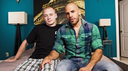 Austin Wilde and hot young first timer Joey Devero