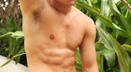 Big outdoors action man Hayden Richard gets naked for Paragon Men