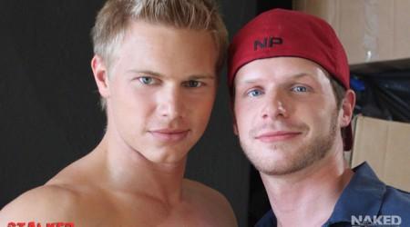 Brady Jensen and Brian Bonds at Naked Sword