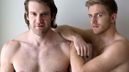 Colby Keller and Levi Michaels