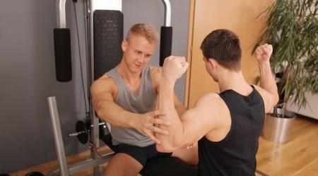 Adam Soulska and Chris Hollander