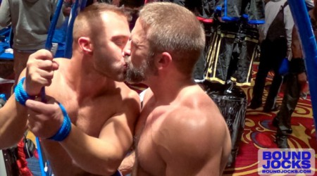 Dirk Caber and JR Bronson