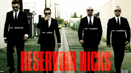 Gavin Waters, Tommy Defendi, Rex Roddick, Mitch Vaughn and Bobby Clark in Reservoir Dicks
