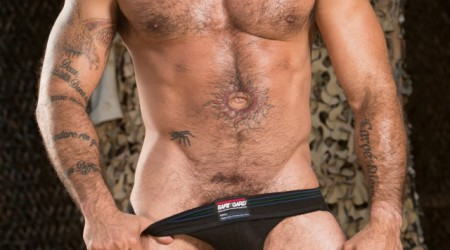 Gay rosebud Alessio Romero fists horny pig bottom Cylus Kohan at Club Inferno Dungeon