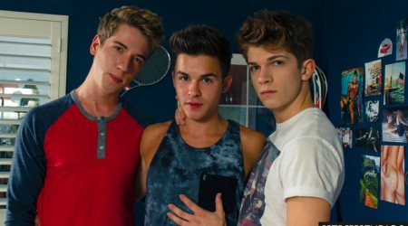 Lukas Grande, Jack Rayder and Andy Taylor