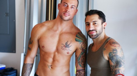 Sean Duran and Nick Cross