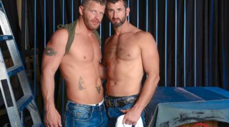 Jeremy Stevens and CJ Parker