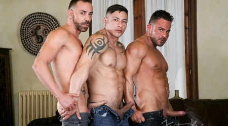 Julio Rey, Alex Brando and Mario Torres