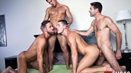 Dato Foland, Craig Daniel, Logan Moore and Theo Ford