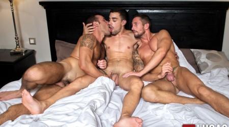 Nick North, Josh Milk and Aaron Steel