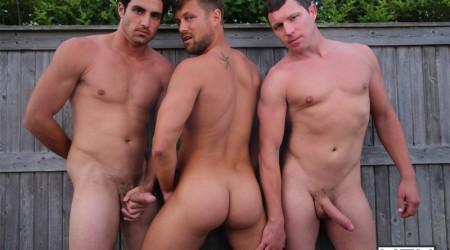 Bobby Clark, Jack King and Travis James