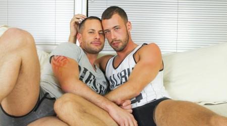 Brad Rioux and Brandon Jones