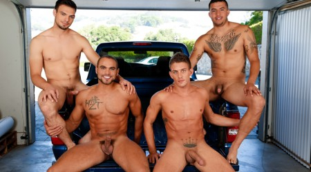 Alexander Gustavo, Brock Avery, Jason Maddox and Joey Rico