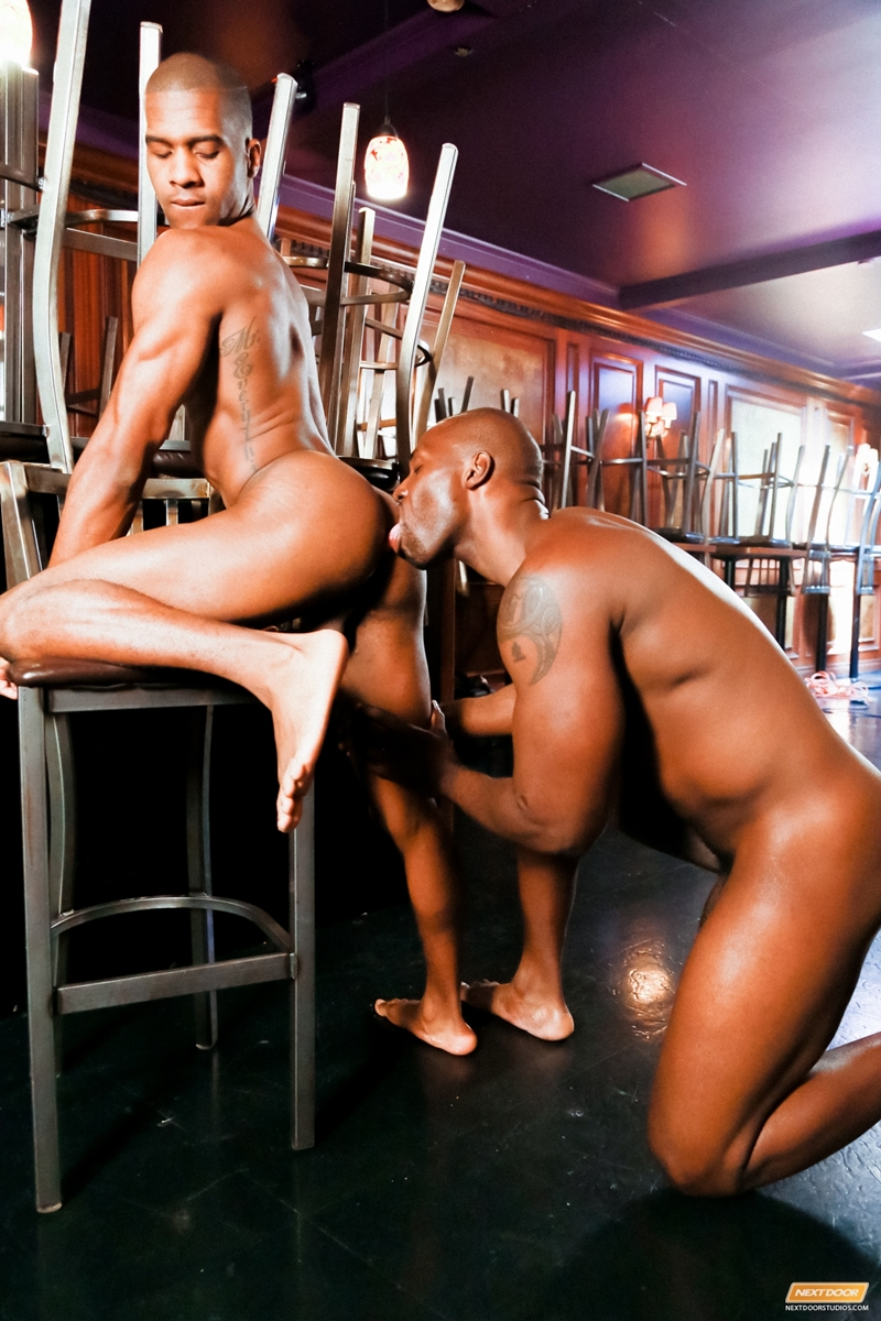 Sexy black men having sex
