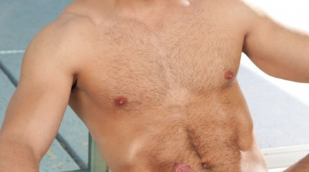 Paddy O'Brian and Marc Dylan both with shaved chest hair so sexy