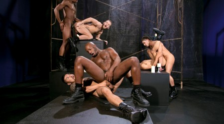 Race Cooper, Shawn Wolfe, Boomer Banks, Trelino, Tyson Tyler and Dato Foland