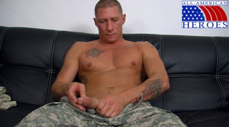 Real-man-in-uniform-Private-Tyler-with-his-FleshJack-at-All-American-Heroes-1-Ripped-Muscle-Bodybuilder-Strips-Naked-and-Strokes-His-Big-Hard-Cock-photo-image