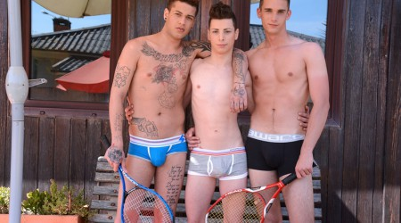 Alex Santana, Mickey Taylor and Orlando White