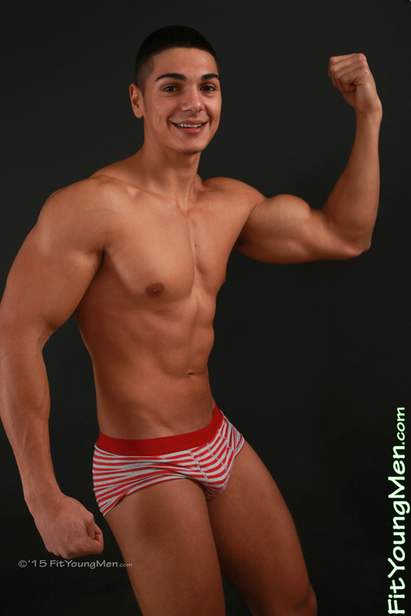 Andrew Huntly 18 Year Old Personal Trainer Stripped To His -8824