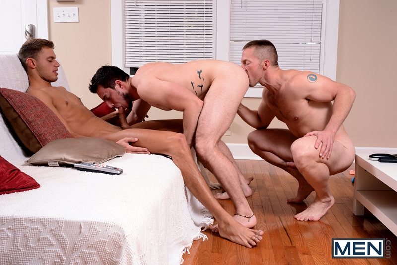 Adam Herst, Andres Moreno And Luke Alexander Hot Threesome -5969