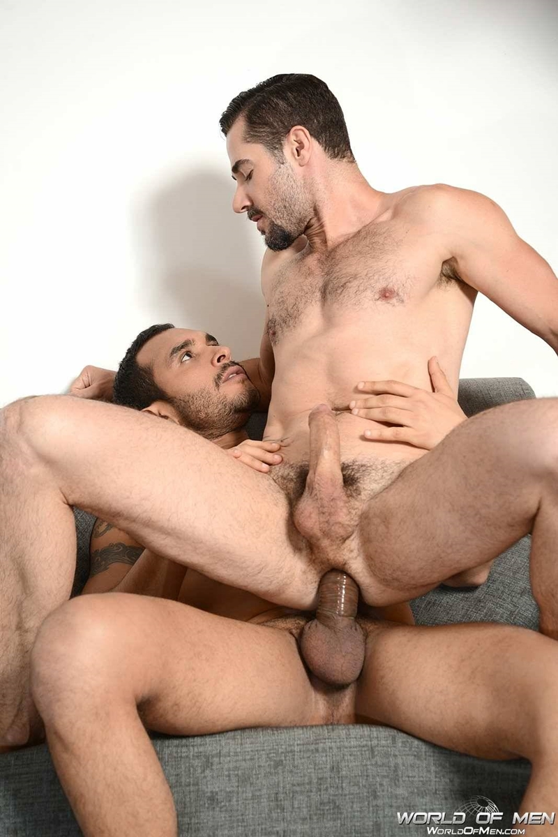 world of men  Lucio Saints and Dean Monroe