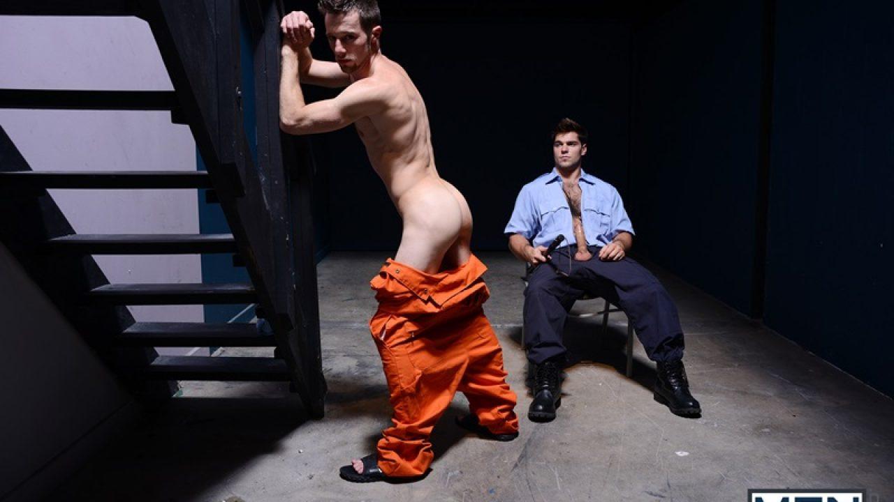Prison Bitch Boy Travis Stevens Sucks Roman Todd S Big Fat Cock