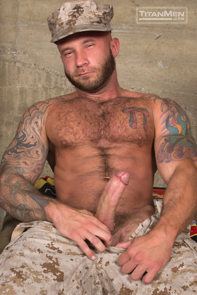 Gay muscle men in uniform