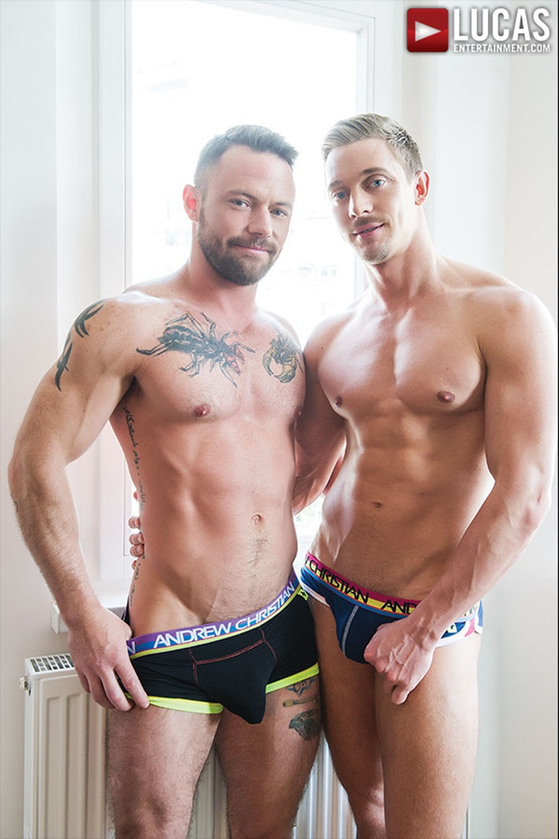 LucasEntertainment-sexy-naked-muscle-tattoo-men-Sergeant-Miles-uncut-Aussie-huge-cock-versatile-flip-flop-fucking-Michael-Lachlan-butt-16-gay-porn-star-sex-video-gallery-photo