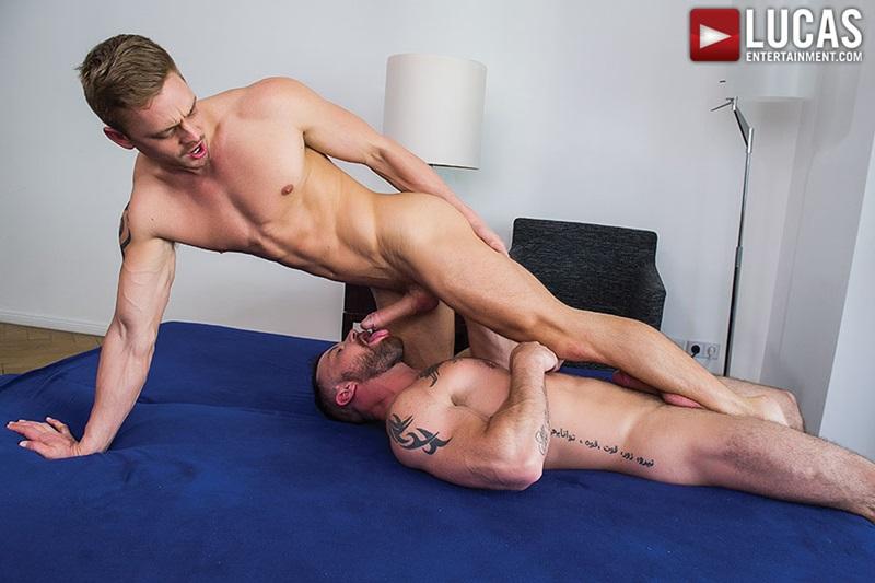 LucasEntertainment-sexy-naked-muscle-tattoo-men-Sergeant-Miles-uncut-Aussie-huge-cock-versatile-flip-flop-fucking-Michael-Lachlan-butt-26-gay-porn-star-sex-video-gallery-photo