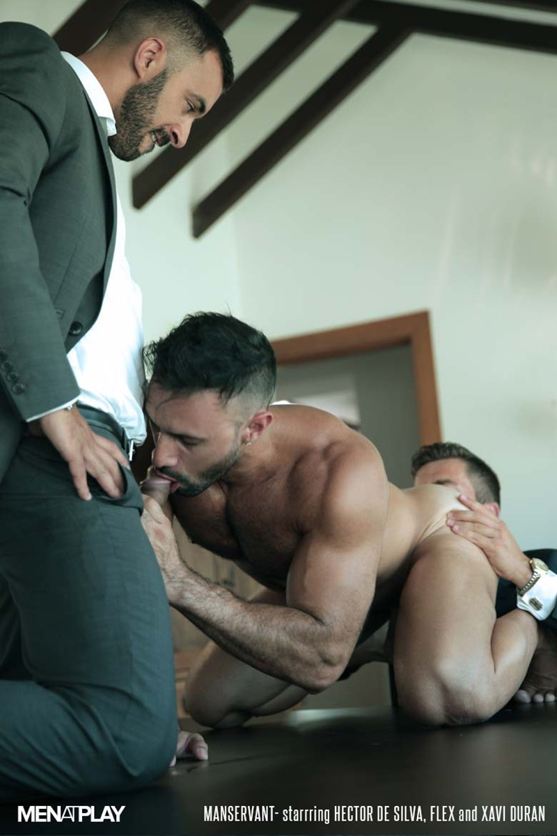 MenatPlay-Flex-Xtremmo-Hector-de-Silva-Xavi-Duran-naked-muscle-business-suit-men-fuck-rim-cock-doggy-style-fucking-Tag-Team-Spit-Roast-10-gay-porn-star-sex-video-gallery-photo