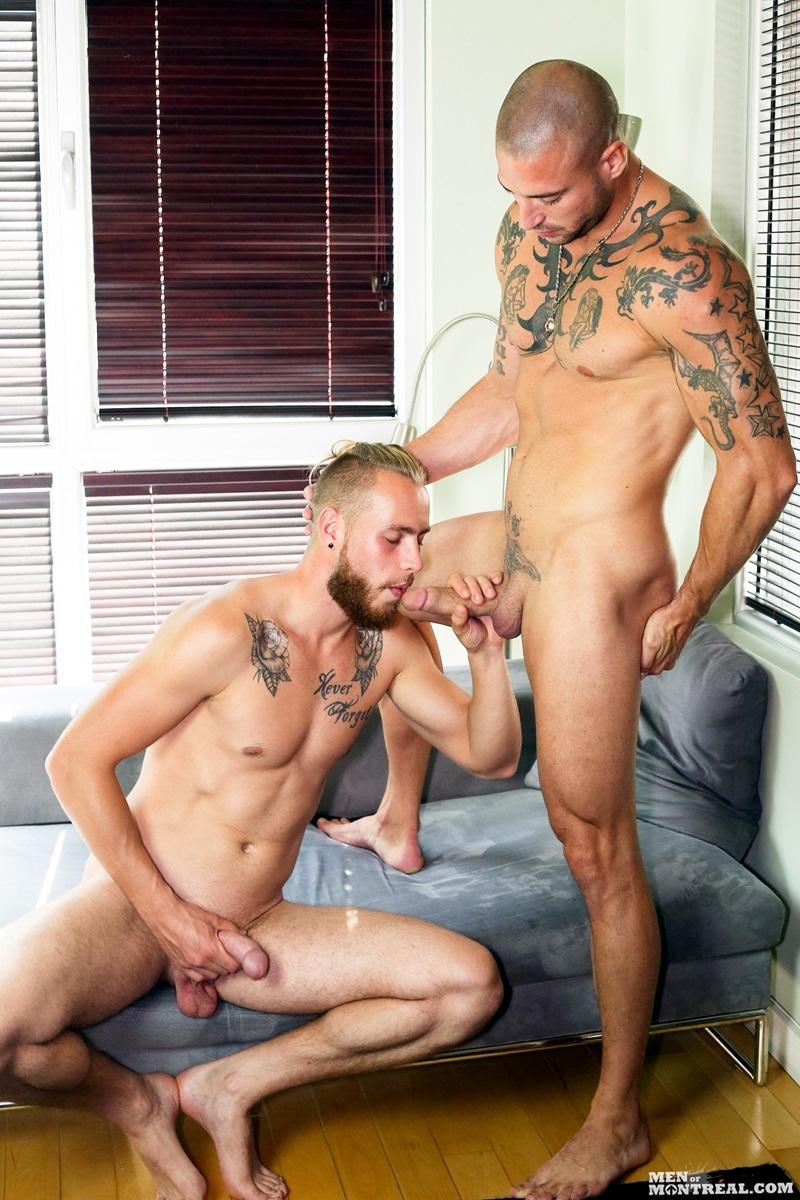 MenofMontreal-nude-men-Kyle-Champagne-Derek-Thibeau-missionary-top-man-dildo-tattooed-dude-bottom-boy-ass-fuck-fat-9-inch-dick-wad-cum-02-gay-porn-star-sex-video-gallery-photo