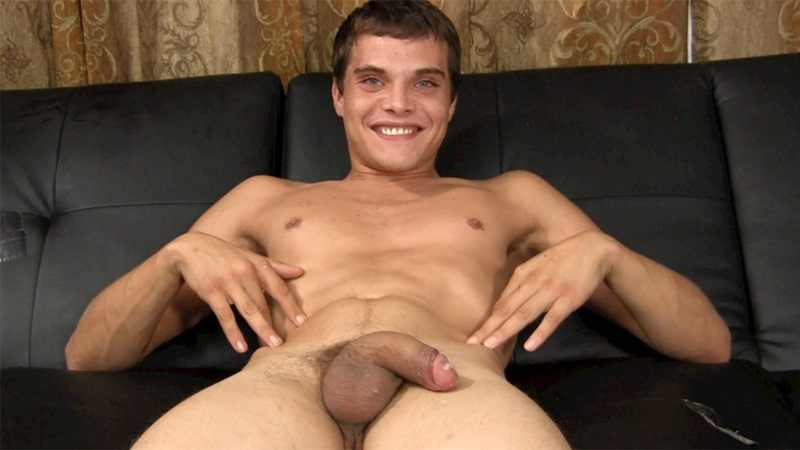 StraightFraternity sexy naked straight studs Jeff guys solo ass hole Franco jerks big cum load uncut cock anal assplay hunks 14 gay porn star sex video gallery photo - Jeff shows his hole to Franco and jacks a big load out of his uncut cock
