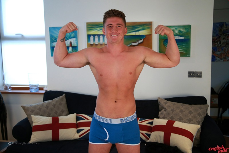 Anthony Forde's uncut cock his erection is over 9 inches and real thick