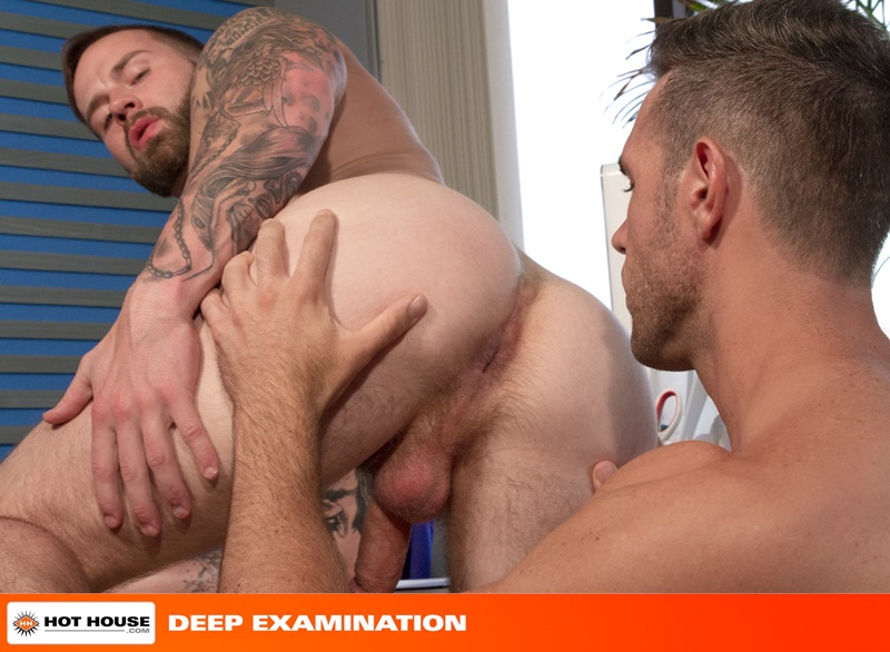Hothouse-Medical-nurse-doctor-Chris-Bines-handsome-Alex-Mecum-fucking-butt-guy-bottom-massive-thick-cock-monster-hairless-ass-hole-rimming-10-gay-porn-star-sex-video-gallery-photo