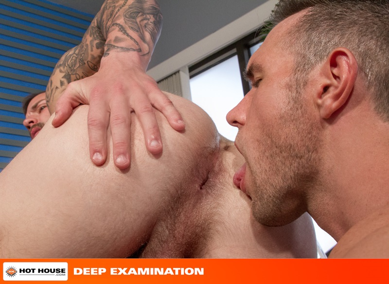 Hothouse-Medical-nurse-doctor-Chris-Bines-handsome-Alex-Mecum-fucking-butt-guy-bottom-massive-thick-cock-monster-hairless-ass-hole-rimming-11-gay-porn-star-sex-video-gallery-photo