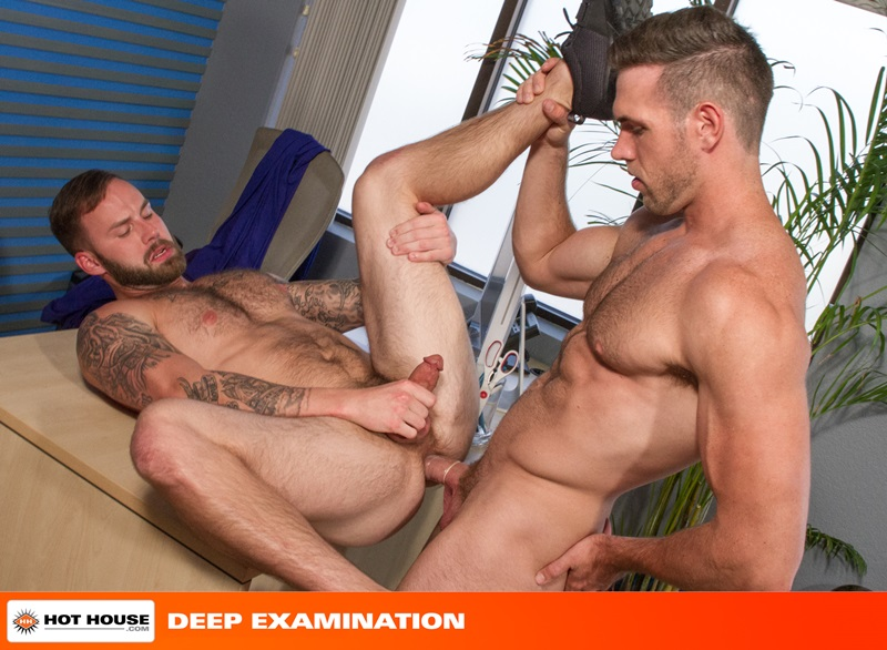 Hothouse-Medical-nurse-doctor-Chris-Bines-handsome-Alex-Mecum-fucking-butt-guy-bottom-massive-thick-cock-monster-hairless-ass-hole-rimming-14-gay-porn-star-sex-video-gallery-photo